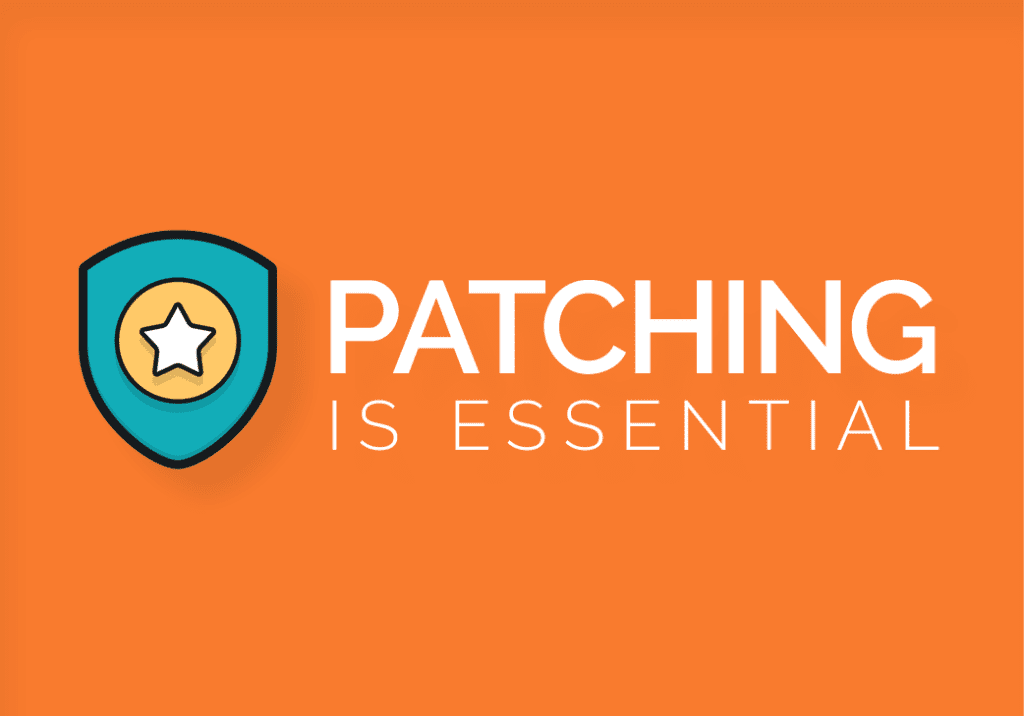 Patching Is Essential
