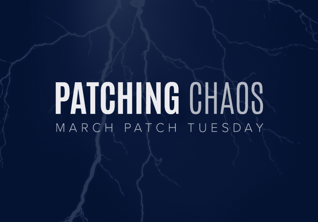 March Patch Tuesday Patching Chaos Cloud Management Suite